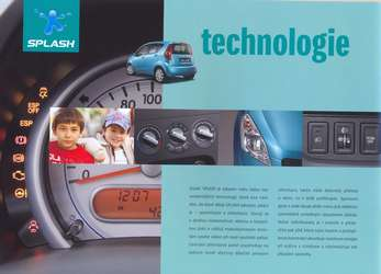 Technologie Suzuki Splash